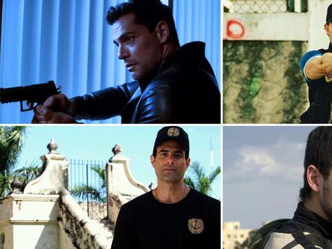 ¡Sexys e intrépidos, así son los policías de las telenovelas!