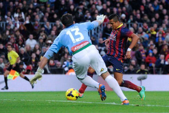 Alexis tendría que aparecer nuevamente para aumentar la diferencia.