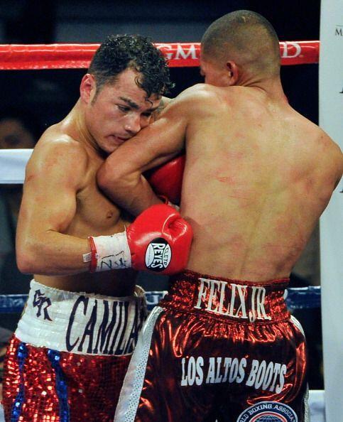 El costrricense Bryan Vázquez y José Féliz disputaron el título internin...