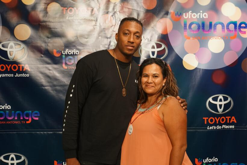 Lucky Beat listeners got to meet Lecrae in the Uforia Lounge