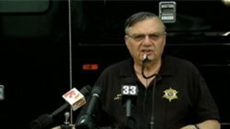 Sheriff del condado Maricopa Joe Arpaio