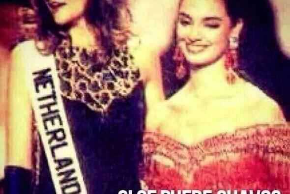 Lupita Jones compartió esta foto donde recordó que México ya había venci...