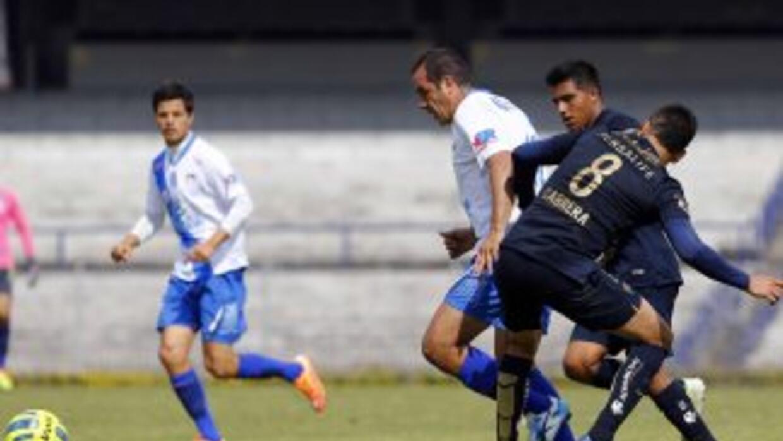 Blanco vio acción en el amistoso ante Pumas.