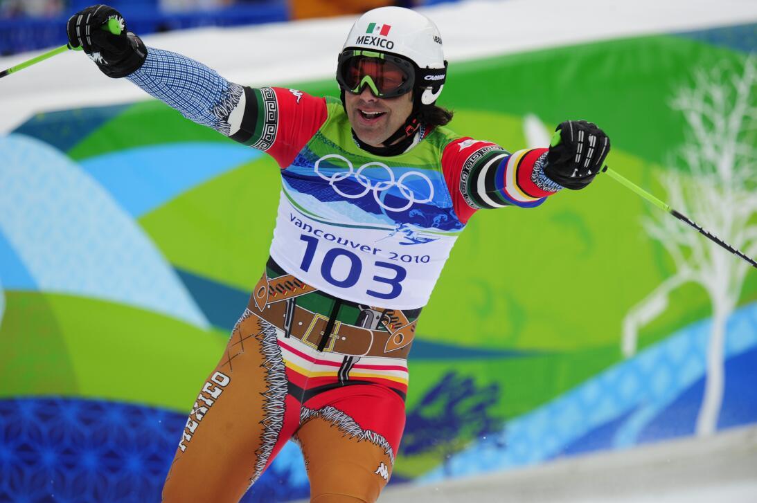 Uniformes extravagantes de México en los Olímpicos de Invierno gettyimag...