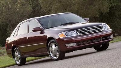Los modelos 2003 y 2004 del Avalon son los afectados.