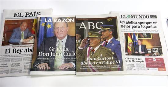 El lunes España fue remecida por una sorpresiva noticia: la abdicación d...