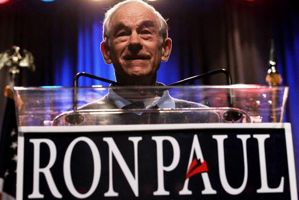 RON PAUL- Sólo tres meses le bastaron a Paul para recaudar 13.3 millones...