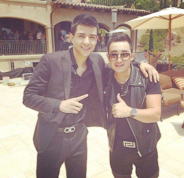 Luis Coronel y Kevin Ortiz