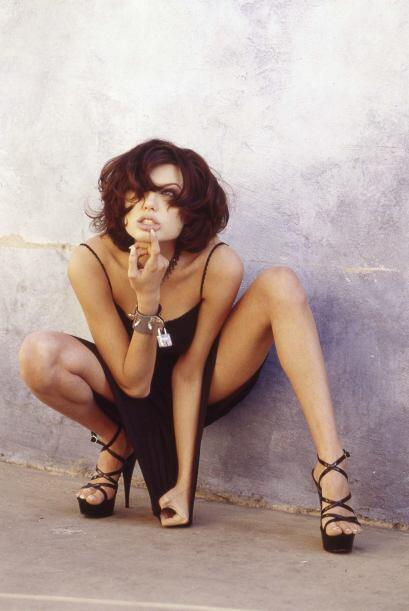 Algo en ella hacía que Angelina Jolie sobresaliera siempre.