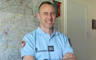 Arnaud Beltrame, el gendarme asesinado.