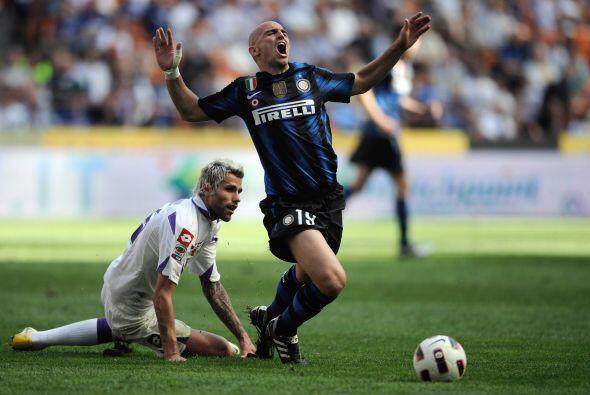 El 'Cuchu' y su Inter se vieron las caras ante la Fiorentina.