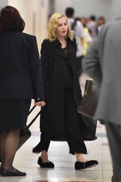 Sin impedimientos, Madonna se ha mostrado de esta manera dejando a más d...