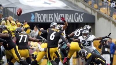 En el último segundo se definió el partido a favor de los Steelers con u...