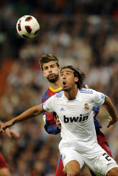 El Real Madrid comenzó a creer en sí mismo y se lanzó en busca del empate.