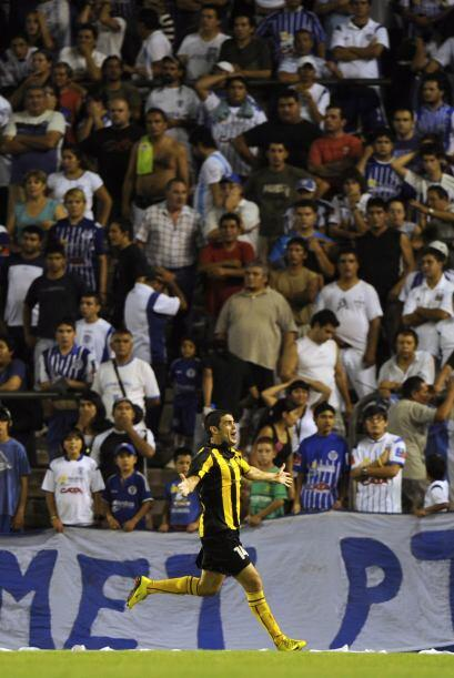 El triunfo congeló a los hinchas del conjunto argentino que se dieron ci...