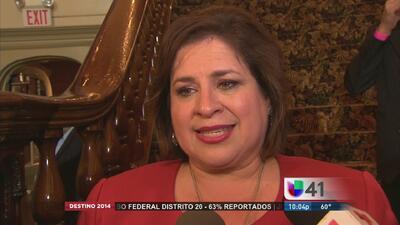 Leticia Van de Putte reconoce su derrota