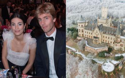 Alessandra de Osa y el príncipe de Hannover.