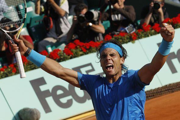 """""""Rafa"""" se coló por sexta vez en su carrera en las semifinales de Roland..."""
