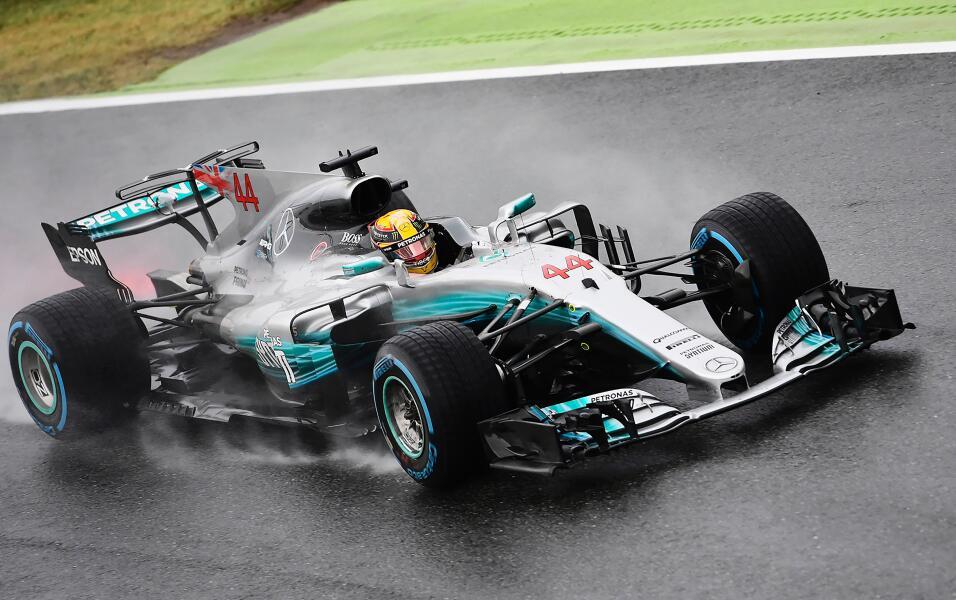 1. Lewis Hamilton (Mercedes) - Mejor tiempo: 1:34.660 / 29 vueltas