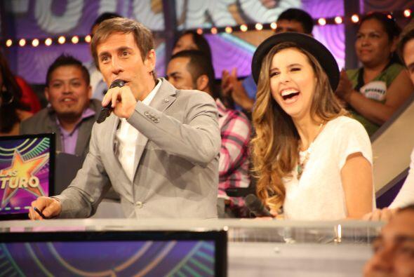 Y los jueces quedaron ¡entretenidísimos! con ella.