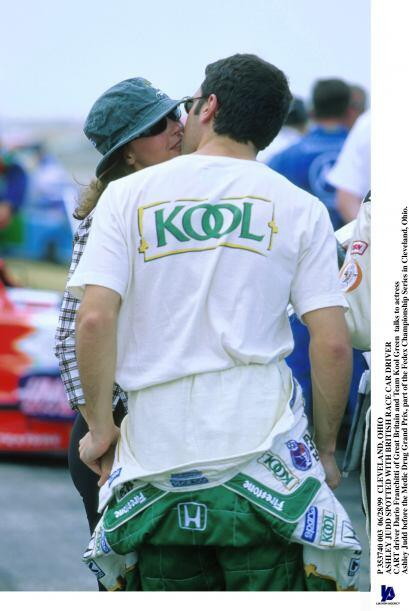 Ashley Judd y Dario Franchitti se casaron en diciembre del 2001 en Escoc...