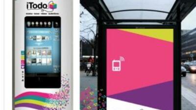 Uno de los kioskos digitales que se ubicarán en la Ciudad de México.