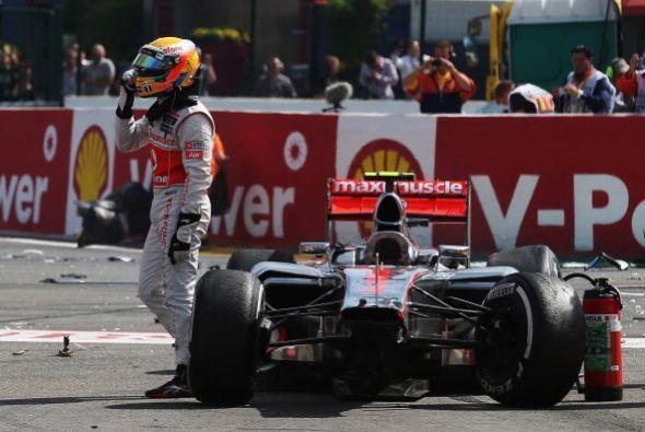 Jenson Button se llevó la victoria de punta a punta en un accidentado Gr...