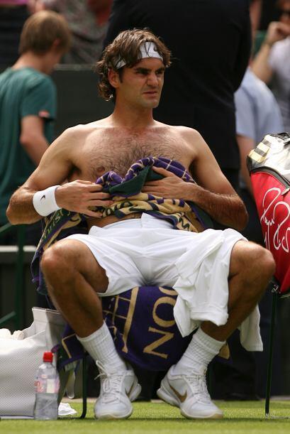 Poseedor de una gran condición física, Federer es considerado como el me...