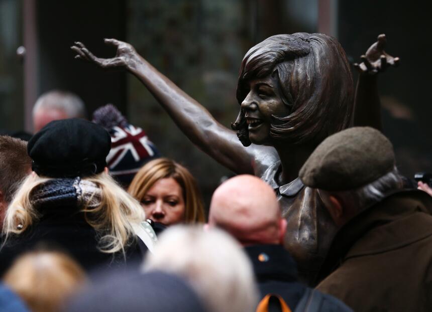 Entre los eventos de celebración de los 60 del Cavern, estuvo la develac...