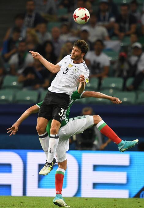 Uno a Uno: A detalle los 22 protagonistas del Alemania vs. México 005 Jo...