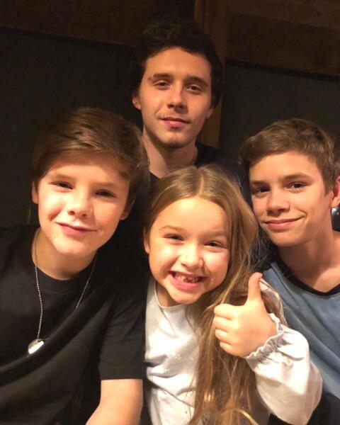 Hijos de Victoria Beckham