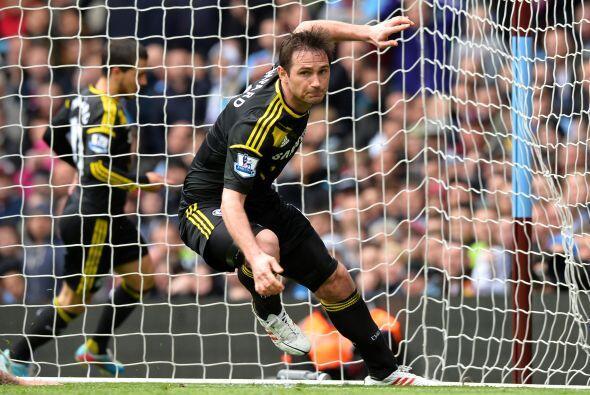 Continuamos con uno de los líderes del Chelsea, Frank Lampard.