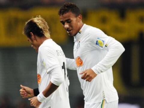 El Santos de Brasil festejó en Japón ante Kashiwa, con un...
