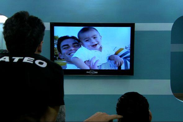 Esta fue la bella sorpresa que recibió Jonathan, ver a su hijo en fotos...