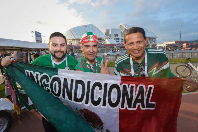 Belleza y sentimiento mexicano se tomaron el Olímpico de Sochi 20170629_...
