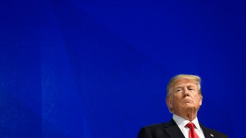 El presidente Donald Trump dará su primer discurso del Estado de...