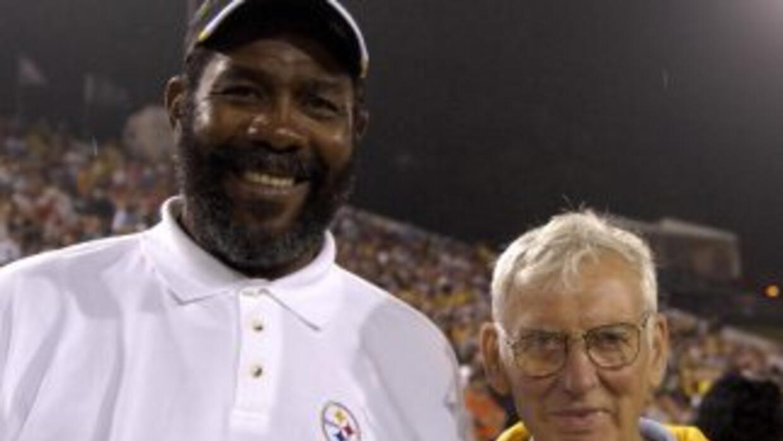 Joe Greene es uno de los mejores jugadores en la historia de los Steelers.