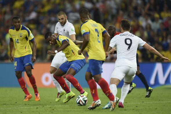 Frickson Erazo, luego de ser titular en las eliminatorias rumbo a Brasil...