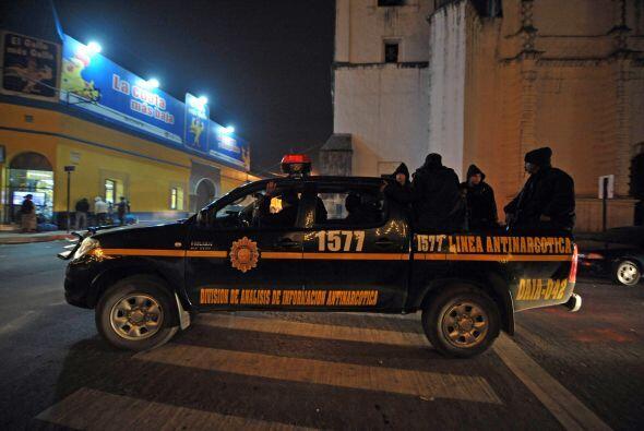 Colom lanzó una ofensiva contra Los Zetas en diciembre pasado con la imp...