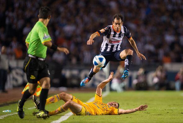 El 'Clásico Regio' entre los Tigres y los Rayados de Monterrey ha tenido...