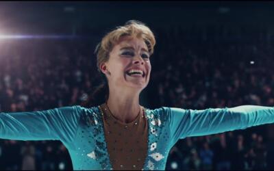 Actress Margot Robbie portrays real-life professional skater Tonya Hardi...