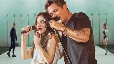 Paty Cantú cumple su sueño de niña al grabar con su ídolo Alejandro Sanz