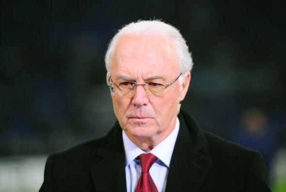 El alemán Franz Beckenbauer fue señalado en su momento como posible suce...