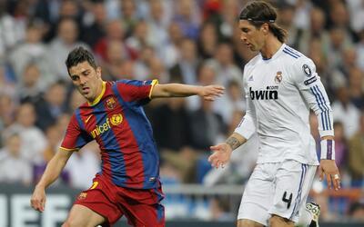Villa y Ramos -grandes rivales en España- se volverán a en...