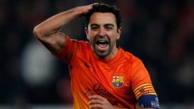 'La pena ha sido ese gol, ese detalle final'', declaró Xavi.