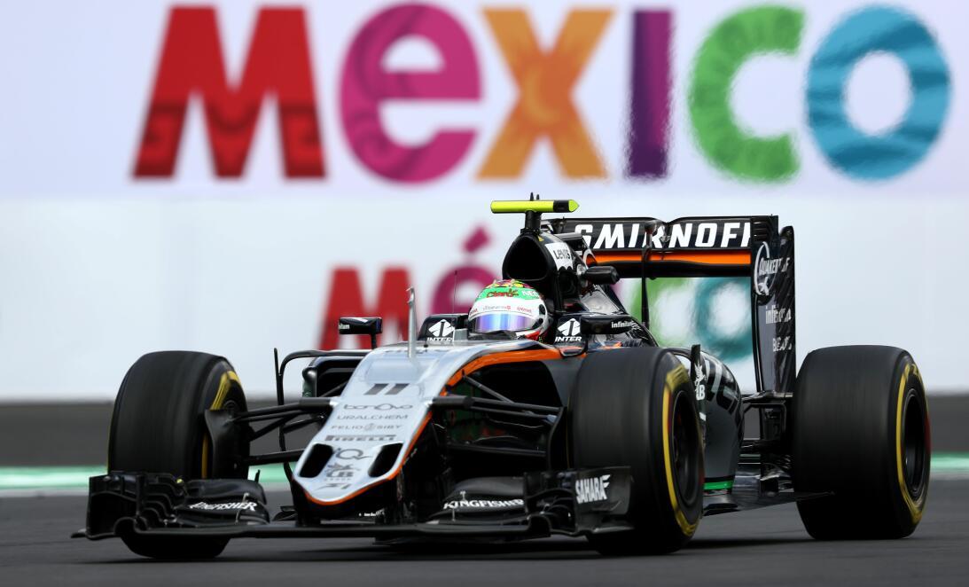 'Checo' Pérez, la promesa de Fórmula 1 que vuelve a casa GettyImages-618...