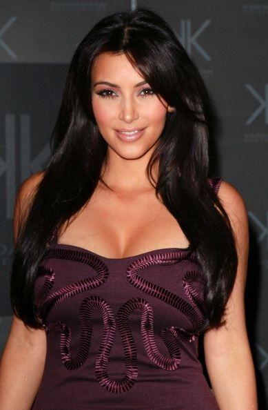 Con este 'look' conocimos a la guapa de Kim Kardashian. Con pelo largo,...