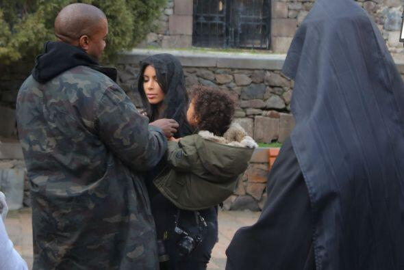 Kanye se ha sentido muy a gusto en Armenia.
