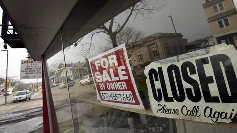 La decadencia económica obligó a muchos a dejar la ciudad...