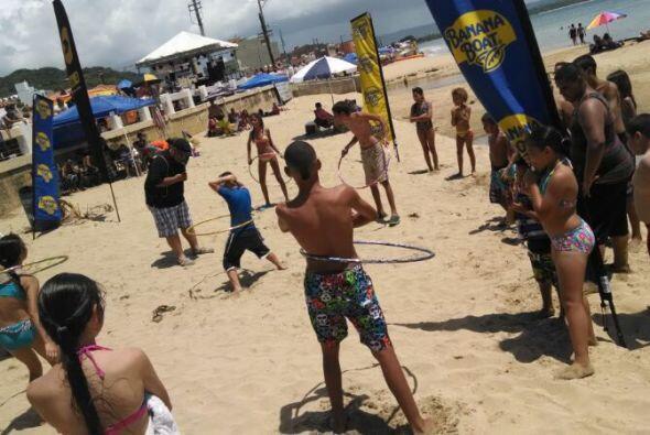 Comparte con nosotros en los Beach Hit's de La Primera. En esta ocasión...
